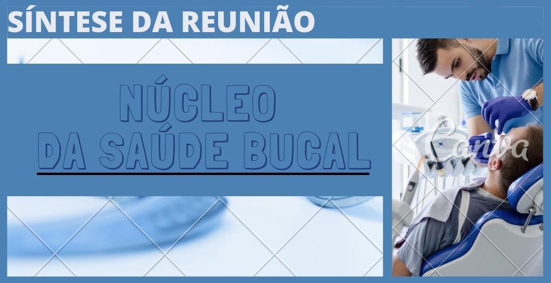 Síntese da reunião do núcleo da saúde Bucal